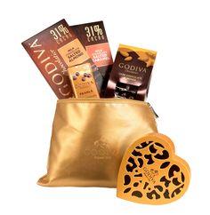 Christmas Chocolate With Luxury Brand Godiva
