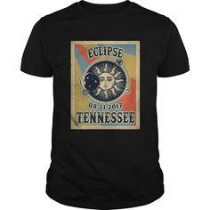 Vintage Tennessee Vintage Solar Eclipse 2017 Tshirt
