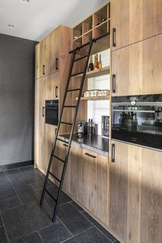 House Rooms, Interior Design Kitchen, Armoire, Home Goods, Ikea Hack, New Homes, Restaurant, Rustic, Wood