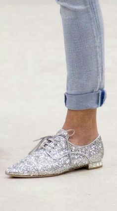Zapatos color plata
