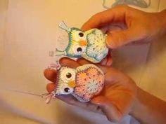 Crochet Mandala Pattern, Crochet Owls, Baby Afghan Crochet, Crochet Amigurumi Free Patterns, Crochet Mittens, Crochet For Kids, Crochet Flowers, Amigurumi Tutorial, African Flower Crochet Animals