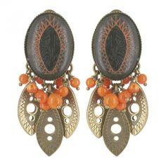 Boucles d'oreilles clips Namibie
