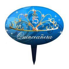 CAKE TOPPER Quinceanera Tiara