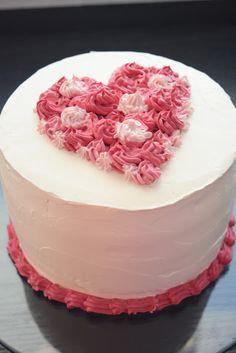 Ystävänpäivä kakku