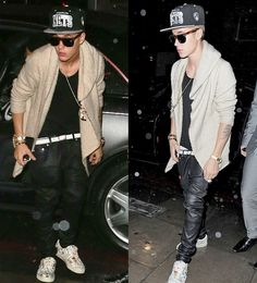 Birthday boy: Justin Bieber headed out to members-only after-hours club, BLC