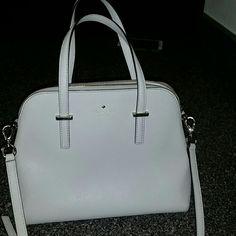 Kate spade purse Beige/cream kate spade purse. Excellent condition. kate spade Bags Totes