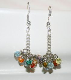 Swarovski earrings Crystal earrings dangle by DakotaDesignsbyVicki, $18.00