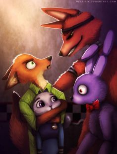 Wrong Fanart Dude (Zootopia x FNAF) by Neytirix on DeviantArt - Sheila MacNeil Five Nights At Freddy's, Zootopia, Foxy And Mangle, Fnaf Wallpapers, Fnaf Characters, Freddy 's, Fnaf Drawings, Fnaf Sister Location, Anime Fnaf