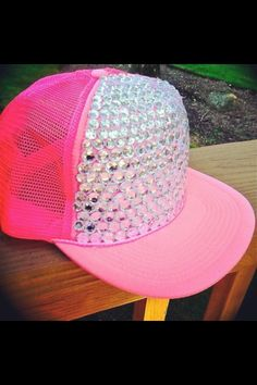 Takes lots of Patients....Bedazzled trucker hat <3