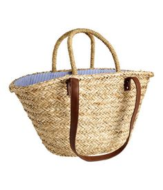 Large straw bag £14.99 @hm