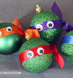 Karácsonyfadísz tini nindzsa teknőcök / Mindy -  kreatív ötletek és dekorációk minden napra