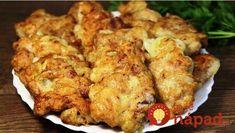 Vyprážané fašírky z mletého už nerobím, toto je stokrát lepšie: Mäso stačí zamiešať s kyslou smotanou, cibuľou a o 10 minút máte obed ako lusk! Pork Tenderloin Recipes, Cooking Recipes, Healthy Recipes, Russian Recipes, 4 Ingredients, Tandoori Chicken, Chicken Wings, Cauliflower, Menu