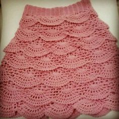 My new crochet skirts ♥ i made it with love by eliz bahar yarn ♥