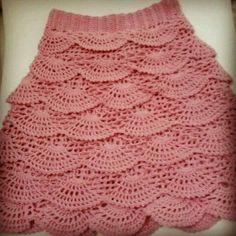 My new crochet skirts ♥ i made it with love by eliz bahar yarn ♥