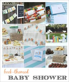 Book Baby Shower ...could be birthday too!  by craftiness is not optional