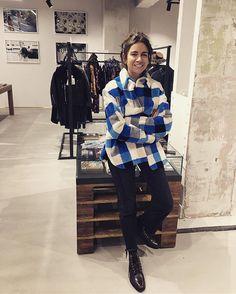 WEBSTA @ walkofshamemoscow - Natasha Goldenberg wearing WoS fur shirt   Find the same in @ngxtsum  