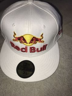 bc757f55585 New Era Red Bull Hat Baseball Cap Bull Rider Size 7 5 8  fashion  clothing   shoes  accessories  mensaccessories  hats (ebay link)