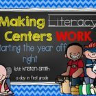 This packet is designed to help you set up and run Literacy Centers in your kinder or first grade classroom. It provides you with everything you ne...
