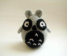 amigurumi owl plush