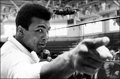 """If they can make penicillin out of mouldy bread, they can sure make something out of you."" ~Muhammad Ali"