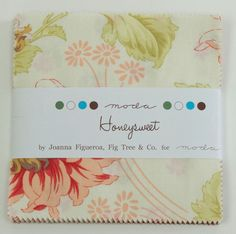 HONEYSWEET Charm Pack by Fig Tree & Co. for Moda Quilt Fabrics. by lavenderquiltsllc on Etsy
