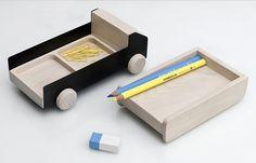 Truck desk tidy by THINKK Studio
