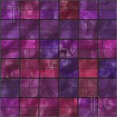 Seamless purple hilly tiles,