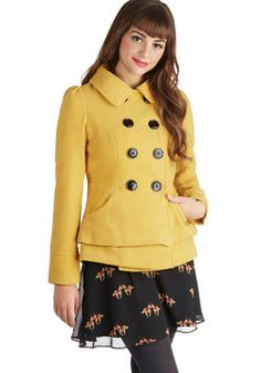 Daily Delights Coat, #ModCloth