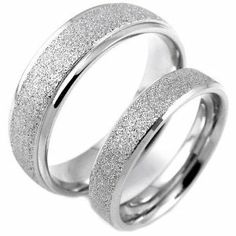 Stylish Matte 316l Stainless Steel Couple Rings (Size 8-10) His & (Size 5-8) Hers Set Aniversary/engagement/wedding Bands. Please E-mail Sizes TungstenLove. $12.99