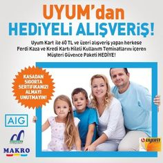 AIG Sigorta-Uyum Market Kampanya