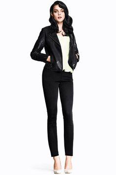 Love the Grease vibe - SO Pretty!!    Jessica Stam Stars in H Latest Trend Update Stylebook