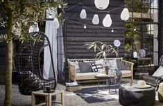 Exterior ⋆ Cleo Scheulderman - Stylist and Art Director for Interior and Still Life Outdoor Seating Areas, Outdoor Rooms, Outdoor Gardens, Outdoor Living, Outdoor Decor, Outside Living, House Doctor, Deck Design, Dream Garden