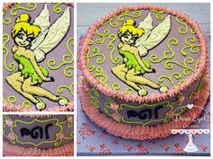 Tinkerbell Cream Cake