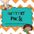Summer Safety is always an important topic to go over before you send your sweet kiddos off for the summer. This is a great unit that goes over wat...