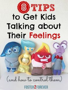Here are some great tips to help kids learn to control their emotions and manage anger. #InsideOutEmotions #ad