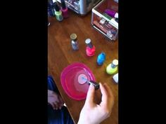 easter egg decoration with nail polish