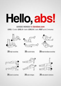 Good workout plans which are simply practical for novices, both gentlemen and ladies to attempt. Read this clever exercise workout image ref 1547580714 today. Sixpack Abs Workout, Abs Workout Routines, Gym Workout Tips, Abs Workout For Women, Ab Workout At Home, At Home Workouts, Workout Fitness, Men Exercise, Workout Challenge