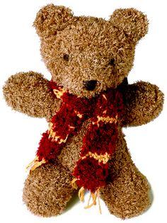 Harry Bear: #knit #knitting #free #pattern #freepattern #freeknittingpattern #freeTeddyBearknittingpattern