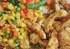 Paleo, Fried Rice, Fries, Chicken, Ethnic Recipes, Food, Bulgur, Essen, Beach Wrap
