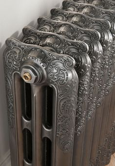 The Radiator Company - Cast Iron Radiators - Trieste Stained Glass Cabinets, Antique French Doors, Architecture Artists, Cottage Kitchen Cabinets, Cabinet Door Styles, Cast Iron Radiators, Designer Radiator, Radiator Cover, Houses