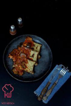 Bezglutenowa babka ziemniaczana Tzatziki, Waffles, Breakfast, Tableware, Blog, Thermomix, Morning Coffee, Dinnerware, Tablewares