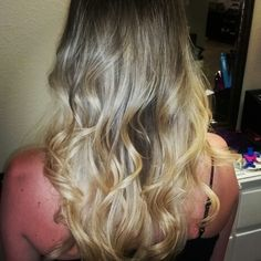 Blonde ombre by jessi