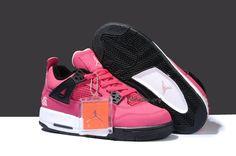 nike air jordans for women   2013 Womens Nike Air Jordan 4 Retro Pink Shoes - $60.20 : Air Jordan ...