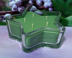 Bayberry PURE SOY Star Container Candle 11 oz.