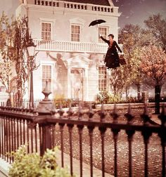 """danausplexippus: """" oldhollywood: """" Julie Andrews in Mary Poppins dir. Robert Stevenson) (via drmacro) """"It's that woman, Mary Poppins. From the moment she stepped into this house, things began. Disney And Dreamworks, Disney Pixar, Disney Animation, Disney Nerd, Disney Princess, Frozen Disney, Disney Love, Disney Magic, Disney Stuff"""