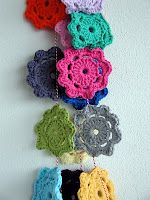 Crochet Garland, need to learn how to crotchet