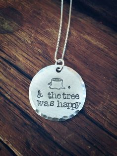 The giving tree children's storybook quote by PreciousPodsBySarahO