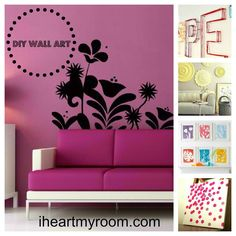 Lots more advice, tips and inspiration for bedrooms, dorm rooms and first apartment - CLICK HERE!! #DIYhome #teen #teendecor @Teen