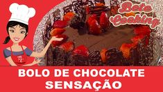 Bolo de Chocolate Sensação | Bete Cooking #7