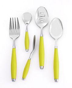 Fiesta Flatware, 5 Piece Hostess Set - Flatware & Silverware - Dining & Entertaining - Macy's